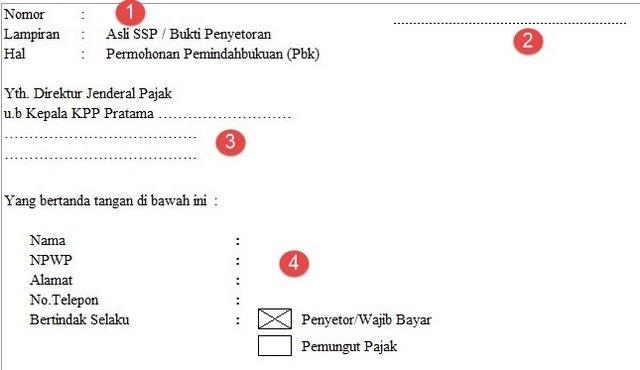 Download Formulir Pemindah Bukuan Pajak Word & Excel Terbaru Resmi