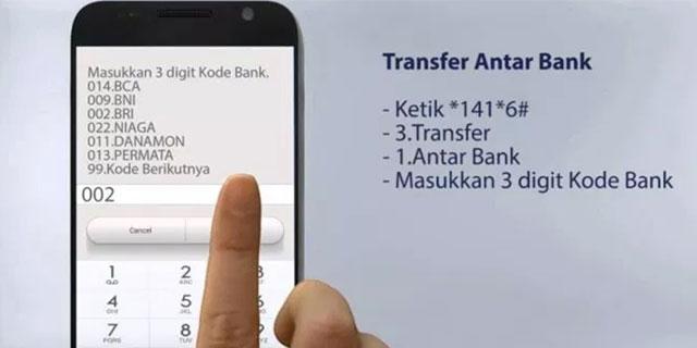 Cara Transfer SMS Banking Mandiri Sesama