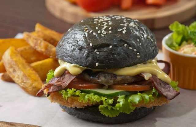 Burger Hitam
