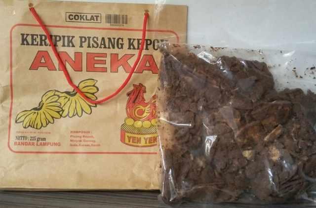 Keripik Pisang Coklat Lampung