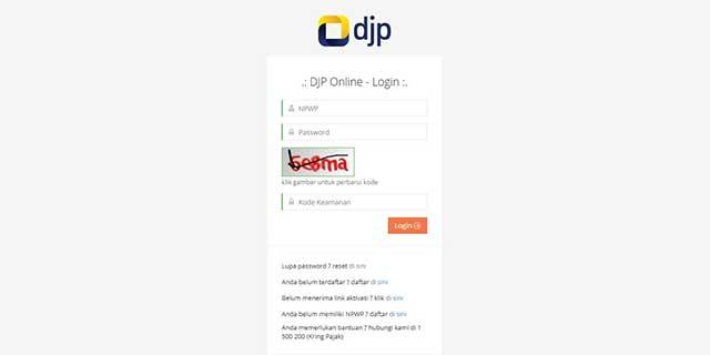 Cara Daftar DJP Online