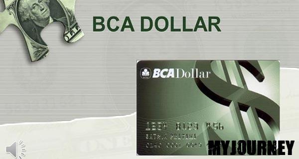 ATM BCA Dollar