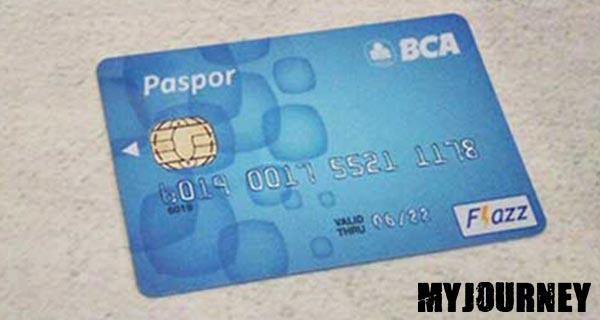 ATM BCA Silver Blue