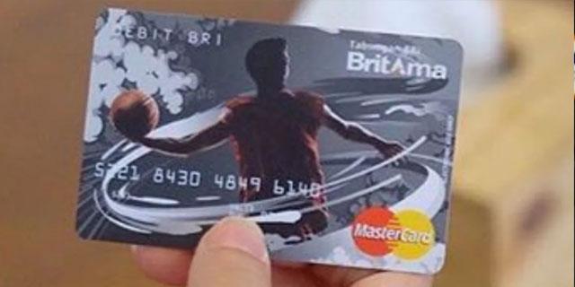 Kartu ATM BRI Britama TKI