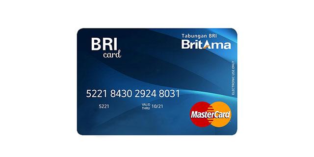 Kartu ATM BRI Britama