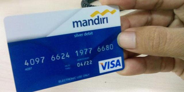 Kartu ATM Mandiri Silver