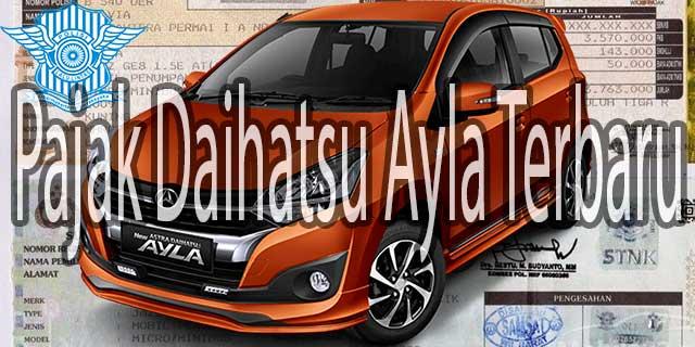 Pajak Daihatsu Ayla