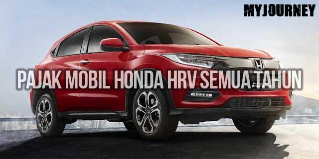 Pajak Mobil Honda HRV Terbaru