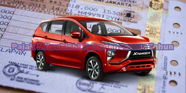Pajak Mobil Mitsubishi Xpander Terbaru
