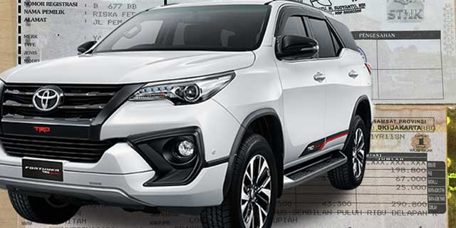 Pajak Toyota Fortuner