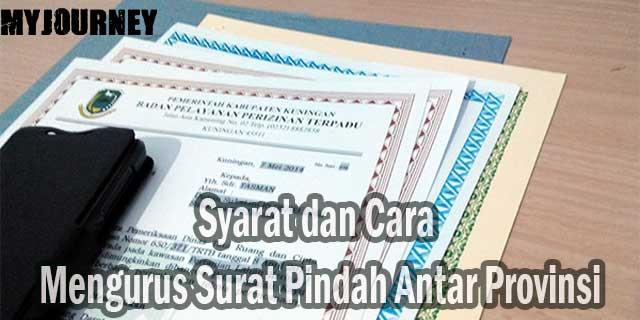 Cara Mengurus Surat Pindah Antar Provinsi