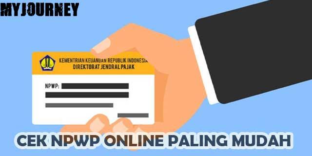 Cek NPWP Online
