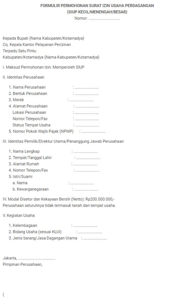 20 Syarat Dan Cara Membuat Siup Terbaru Terlengkap 2020 Myjourney