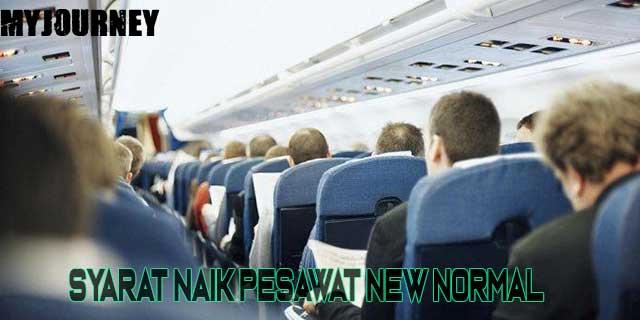 Syarat Naik Pesawat New Normal