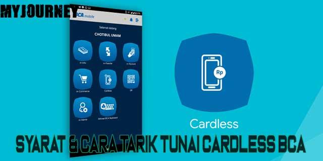 Cara Tarik Tunai Cardless BCA