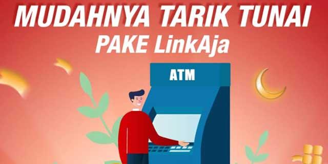 Tarik Tunai LinkAja di ATM