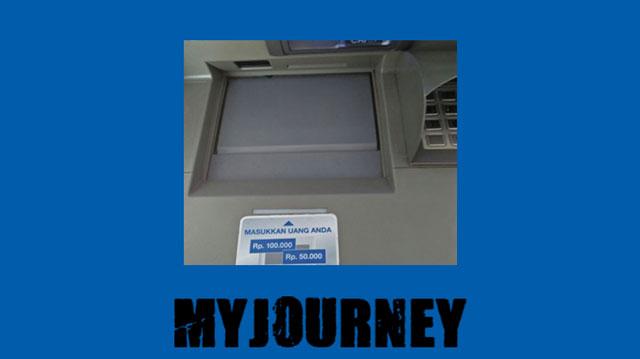 1 Kunjungi mesin setor tunai ATM BCA terdekat