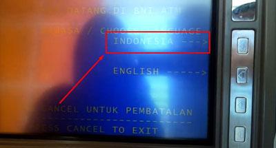 2. Pilih Bahasa Indonesia