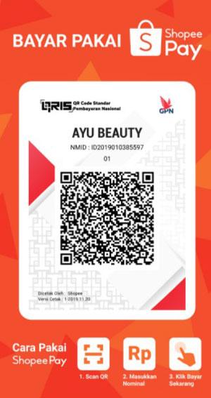 3. Selanjutnya kamu scan barcode QR yang ditampilkan di toko
