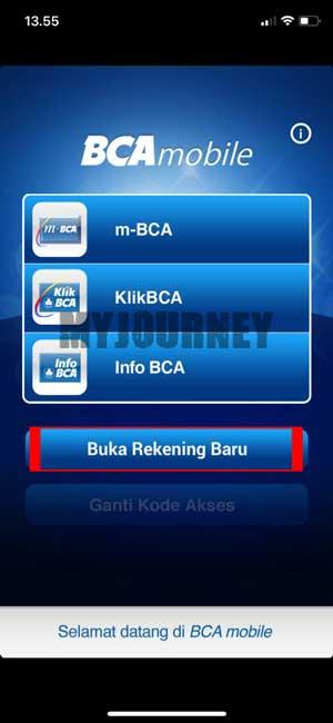 Buka Rekening BCA