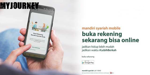 Buka Rekening Mandiri Syariah Online