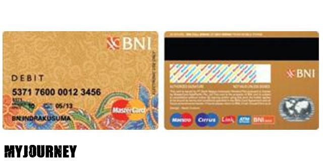 Kartu ATM BNI Gold 1