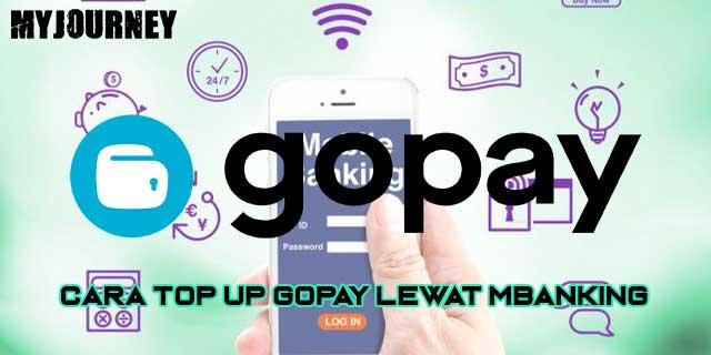 Cara Top Up Gopay Lewat mBanking