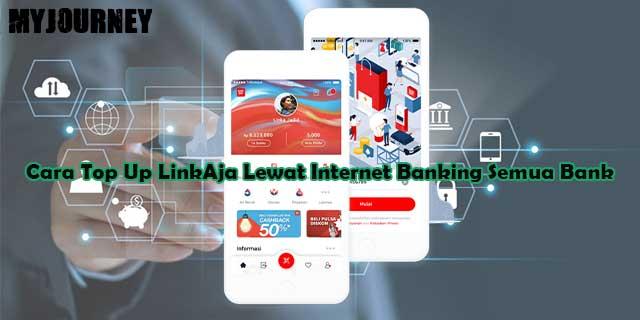 Cara Top Up LinkAja Lewat Internet Banking