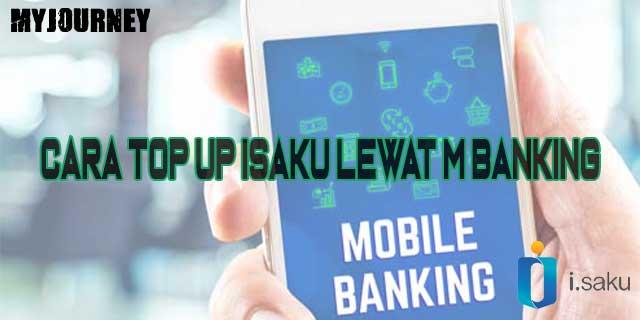 Cara Top Up iSaku Lewat M Banking
