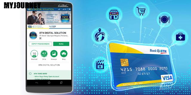 Cara Buat ATM BTN Lewat Aplikasi BTN Digital Solution