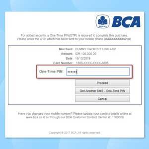 Klik Link untuk Customer Melakukan Pembayaran