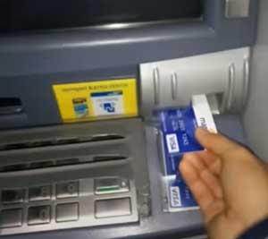 Masukkan Kartu ATM 1