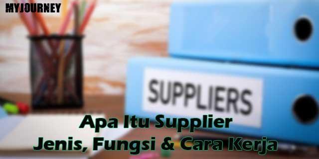 Apa Itu Supplie