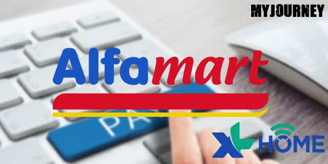 Bayar XL Home di Alfamart