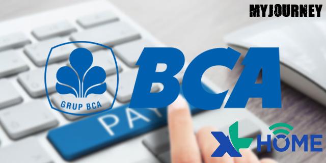 Bayar XL Home di BCA