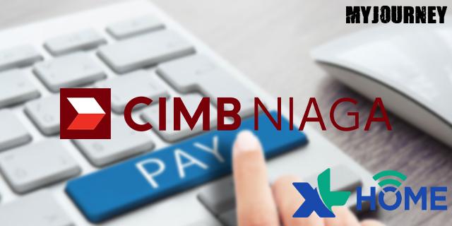 Bayar XL Home di CIMB NIAGA