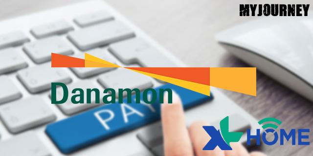 Bayar XL Home di Danamon