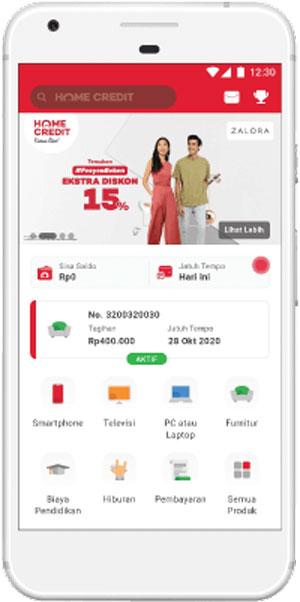 Buka Aplikasi Home Credit 1