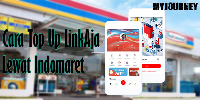 Cara Top Up LinkAja Lewat Indomaret