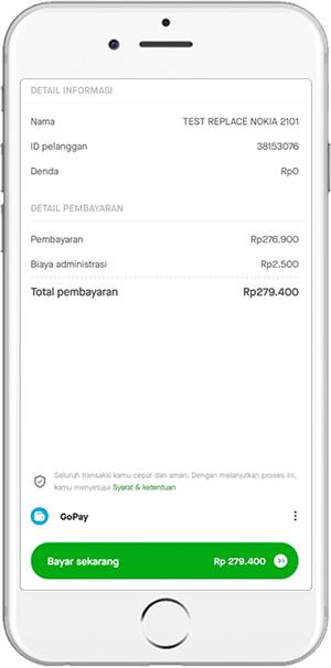 Konfirmasi Data Pembayaran Tagihan