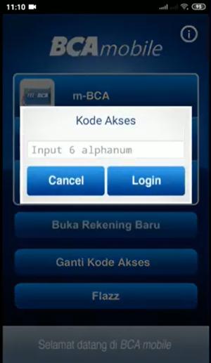 Masukkan Kode Akses