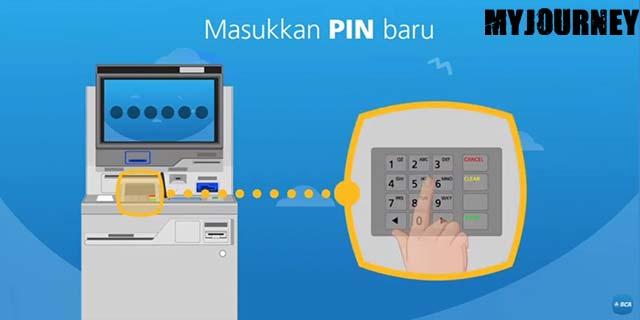 11 Masukan PIN Baru Ganti Kartu ATM BCA Lewat Mesin CS Digital