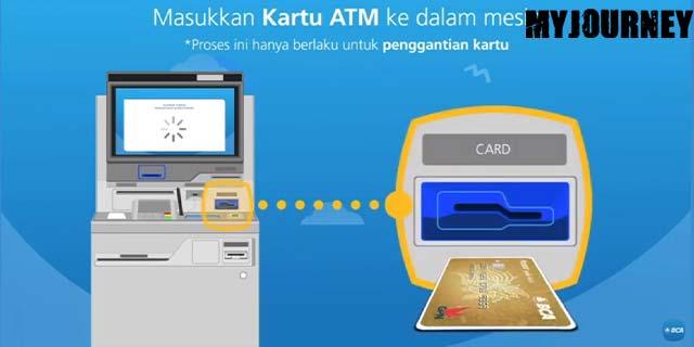 7 Masukan Kartu ATM BCA