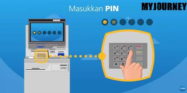 8 Masukan PIN Kartu ATM BCA
