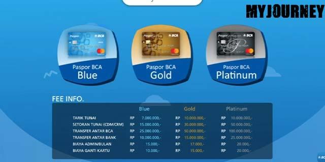 9 Pilih Jenis Kartu ATM BCA