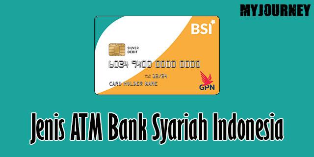 Jenis ATM Bank Syariah Indonesia