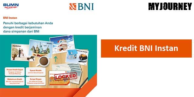 Jenis Kredit BNI Instan