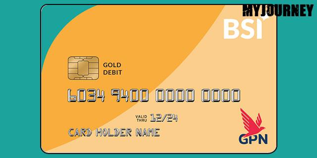 Kartu ATM BSI GPN Gold