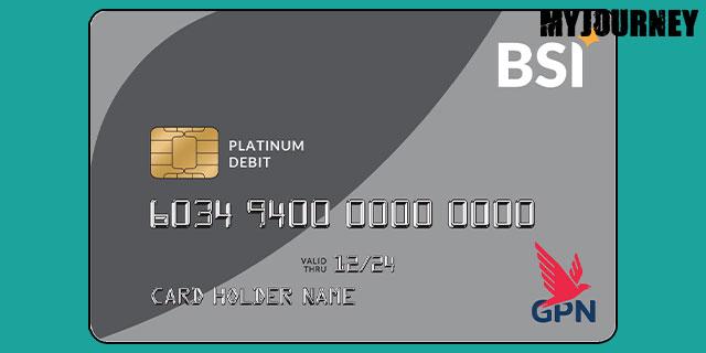 Kartu ATM BSI GPN Platinum