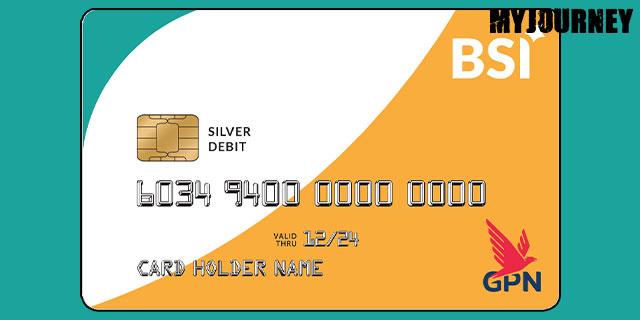 Kartu ATM BSI GPN Silver